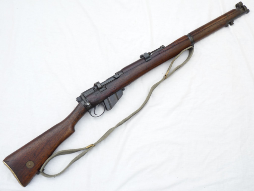deactivated lee enfield smle mk3 bsa co 1916 canadian