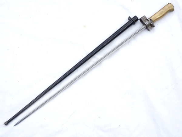 French Lebel M1886 Cruciform Bayonet And Scabbard Sold