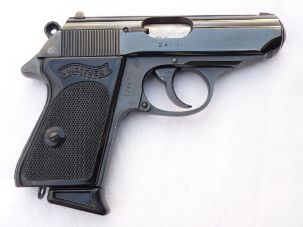 Deactivated German Walther PPK 7.65mm automatic pistol 1969 dated SOLD