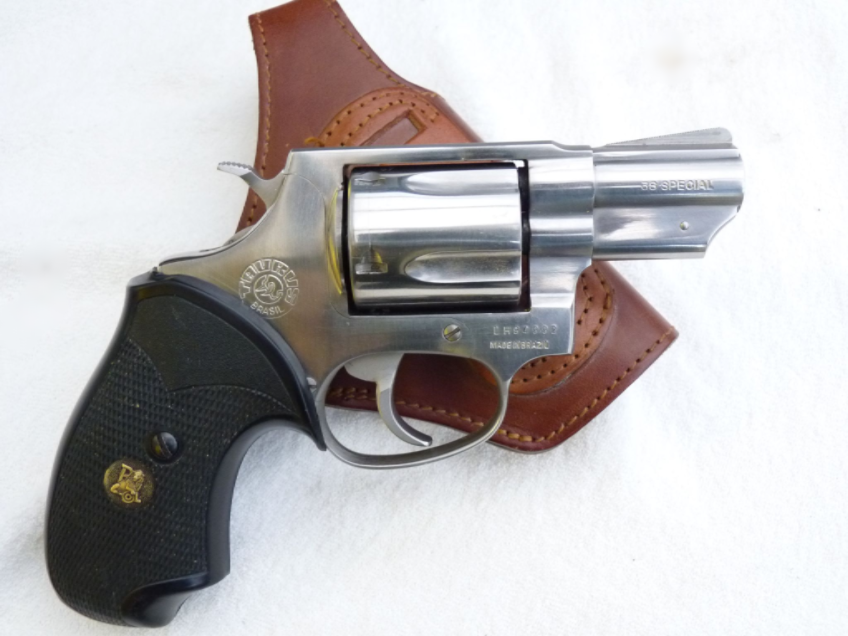 Deactivated Taurus model 85  38 Special revolver and holster SOLD